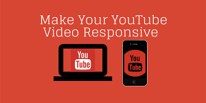 Youtube video responsive yapmak