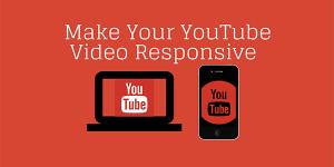 Youtube video responsive yapmak