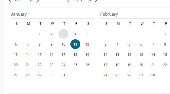 Datepicker Disable Dates